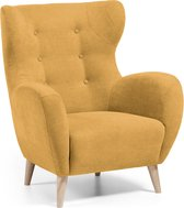 Kave Home - Patio fauteuil mosterd