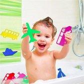 ProductGoods - 20 Leuke Diverse Voertuigen Badspeeltjes - Auto - Bus - Trein - Vliegtuig - Boot - Kinderen - Baby's - Prikkers - Multicolor