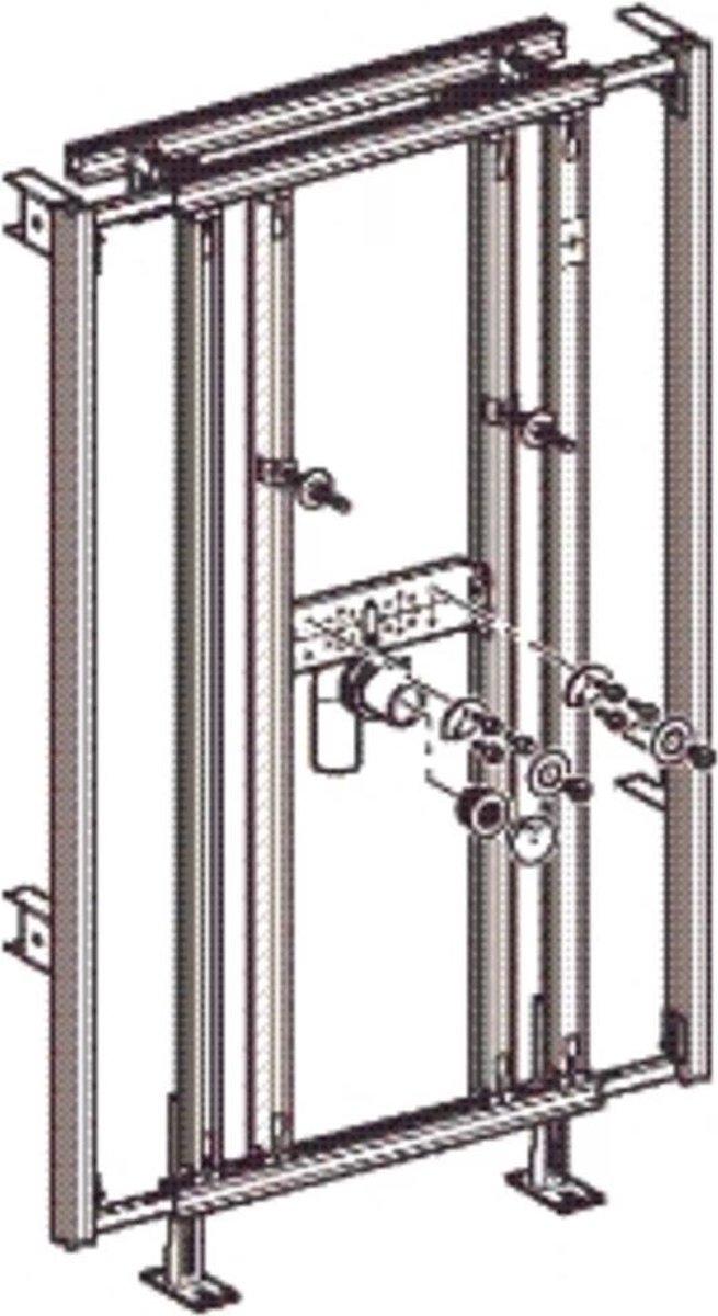Geberit wastafelmodule H90 x B60-95 cm [442.050.00.1]