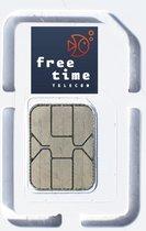 FreeTime Telecom Pre-Paid SIM kaart met meerdere buitenlandse nummers