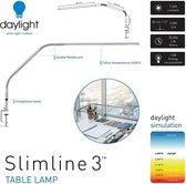 Daylight Slimline 3 LED Tafellamp- bureaulampen met dimmer dimbaar Bureaulamp met klem daglicht Nagelstyliste lamp  E35108