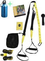 TRX - Suspension trainer - Full Body Training - Gratis Instructievideo en Trainingsschema - Draagtas - Uitleg Oefeningen