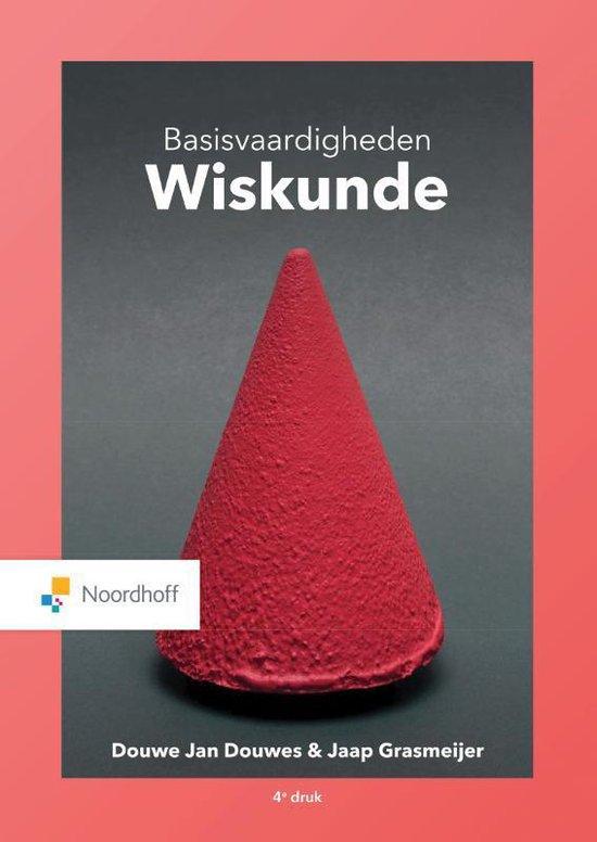 Boek cover Basisvaardigheden Wiskunde van Douwe Jan Douwes (Paperback)