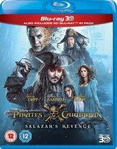 Disney - Pirates Of The Caribbean 5: Salazar's Revenge (3D Blu-ray)