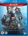Disney - Pirates Of The Caribbean 5: Salazar's Revenge (3D Blu-ray)
