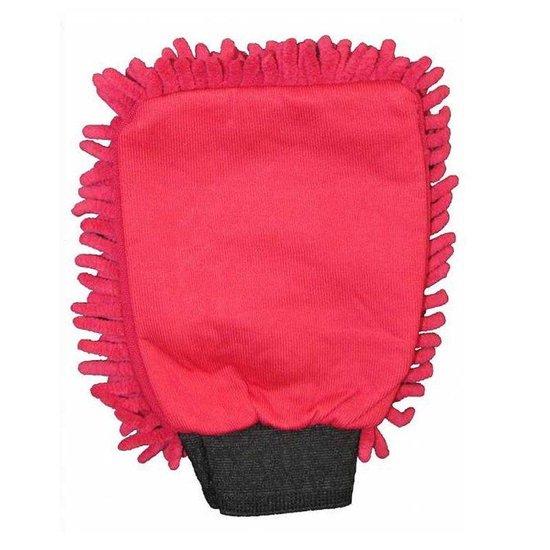 Washandschoen Microvezel Rasta rood
