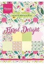 Marianne Design • Bloc floral delight A5