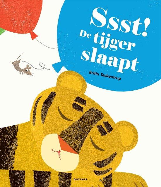 Ssst! De tijger slaapt - Britta Teckentrup |