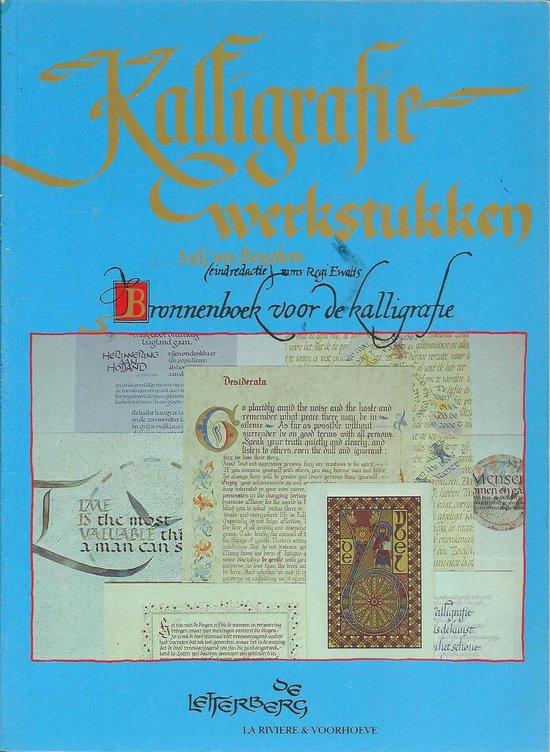 KALLIGRAFIE WERKSTUKKEN - Mels van Beusekom  