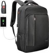 Tigernu Gadget laptop rugtas - anti diefstal - t/m 15,6 inch - waterafstotend - zwart