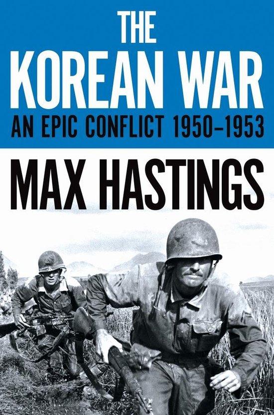 Boek cover The Korean War van Max Hastings
