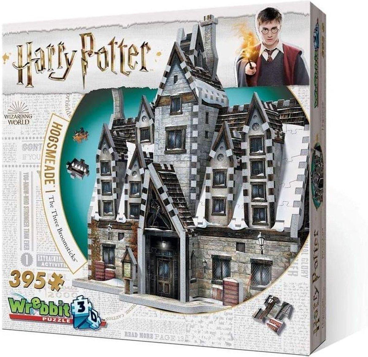 Wrebbit 3d Puzzel Harry Potter - The Three Broomsticks (Hogsmeade)