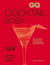Boek cover GQ Cocktailboek, Het. De ultieme collectie voor échte liefhebbers van Henderson, P. (Hardcover)