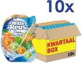 Witte Reus Toiletblok Geur Switch - Perzik Appel - Voordeelverpakking - 10 stuks