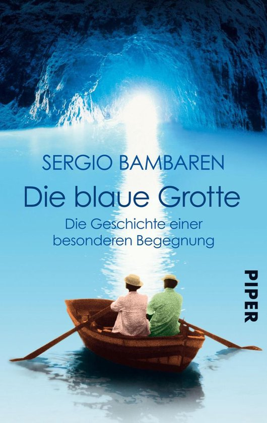Boek cover Die Blaue Grotte van Sergio Bambaren (Onbekend)