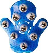 Flowee Massagehandschoen - Blauw - Inclusief leuke cadeauverpakking! – Massage handschoen