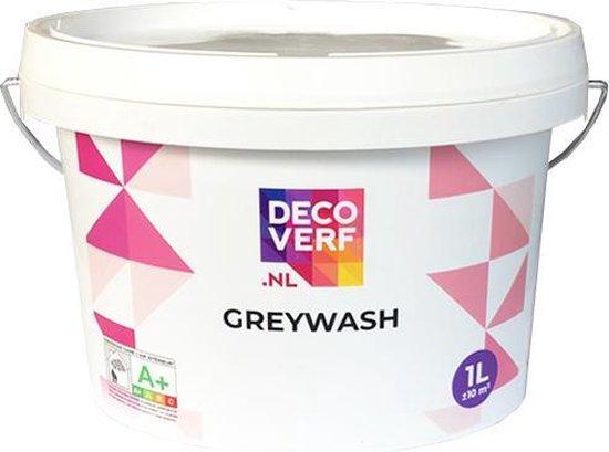 Decoverf greywash, 1l + blokwitter