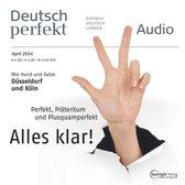 Deutsch lernen Audio - Perfekt, Präteritum und Plusquamperfekt