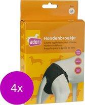 Adori Hondenbroek Luxe Zwart - Hondenloopsheid - 4 x Xlarge