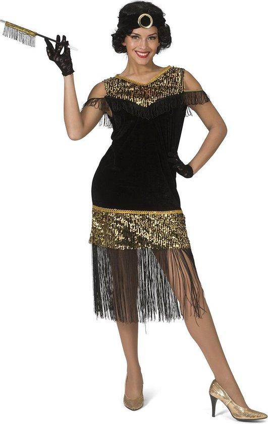 Betere bol.com | Jaren 20 Danseressen Kostuum | Gouden Lovertjes TE-57