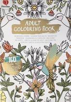 Volwassen Kleurboek Goud-Zilver Luxe 160 kleurplaten - Asorti levering