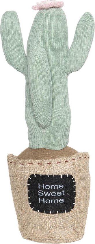 Clayre & Eef Deurstopper cactus - groen