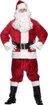 Kerstman pak deluxe | Santa Claus kostuum | Onesize