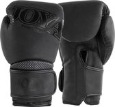 Joya Fight Gear Metal Kickboxing - (kick)bokshandschoenen - Synthetisch leer - 14oz - matzwart