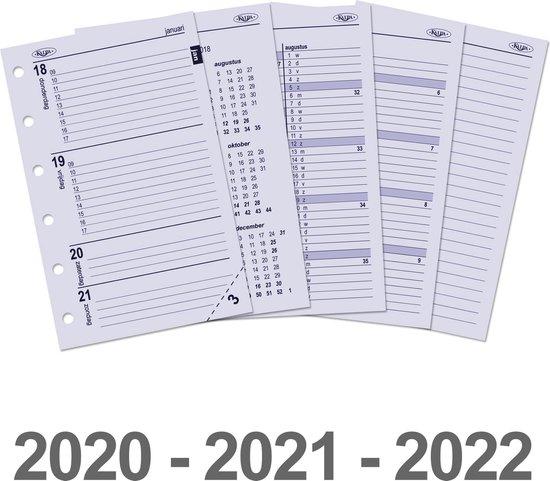 Afbeelding van Kalpa 6237-20-21-22 Pocket-Junior organizer week agenda NL 2020 - 2021 - 2022