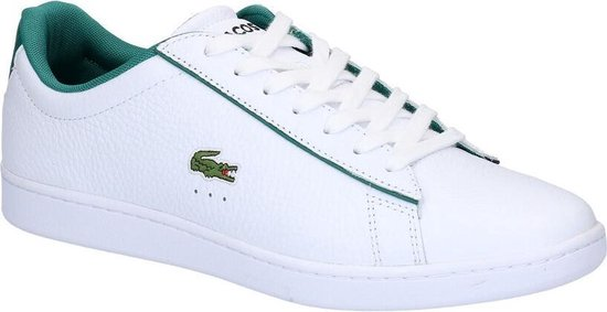 Lacoste Carnaby Evo 120 2 SMA Heren Sneakers - Wit - Maat 46