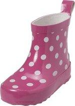 Playshoes Regenlaarzen Kinderen Stippen - Roze - Maat 22