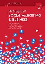 Boek cover Handboek social media marketing van Patrick Petersen