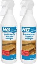 HG hygiënische sauna reiniger 500ml - 2 Stuks !