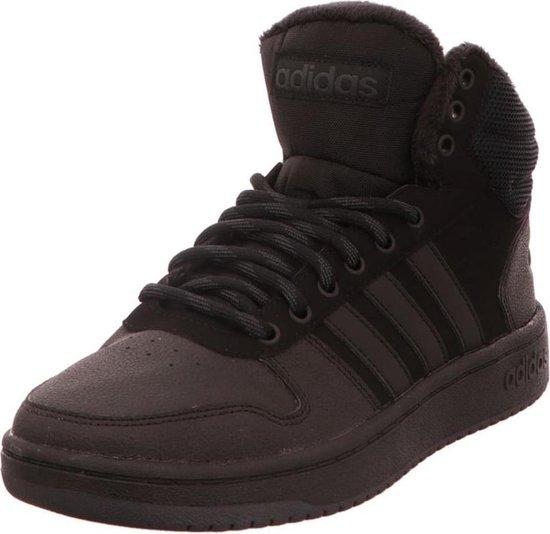 adidas Hoops 2.0 Mid sneakers heren zwart