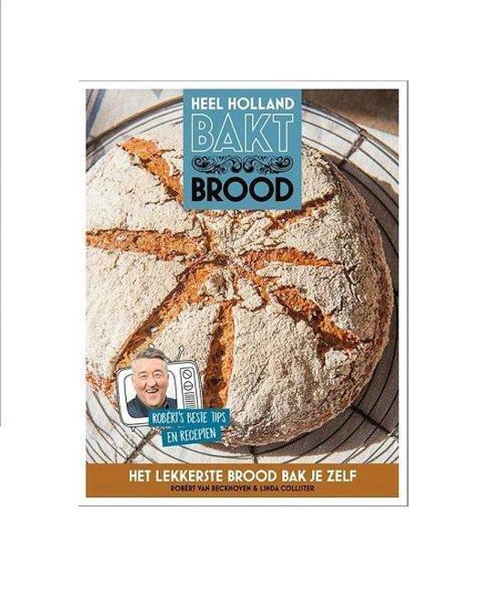 Boek cover Heel Holland bakt brood van Linda Collister (Hardcover)