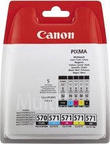 Canon PGI-570/CLI-571 - Inktcartridge / Zwart / Cy