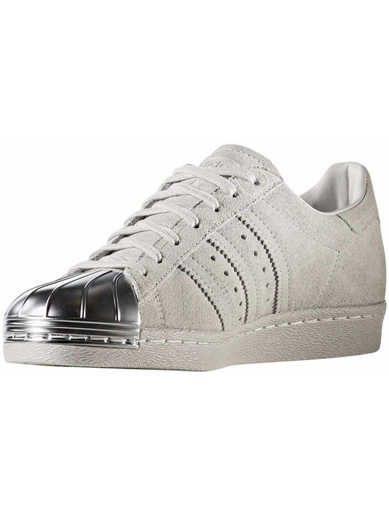bol.com | Adidas Sneakers Superstar 80s Dames Wit/zilver ...