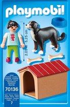 Playmobil Jongen met hond