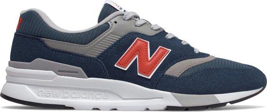 New Balance 997 Sneakers - Maat 45.5 - Mannen - navy/ grijs/ rood