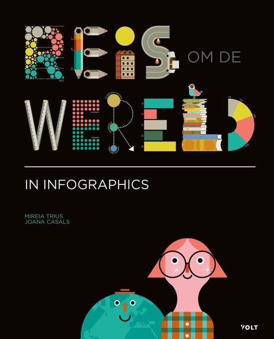 Reis om de wereld in infographics - Mireia Trius  