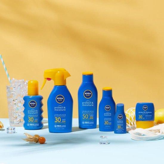 NIVEA SUN Protect & Hydrate Zonnemelk SPF 50+ - 200 ml
