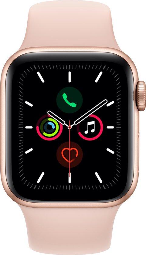 Apple Watch Series 5 - Smartwatch dames - 44 mm - Roze