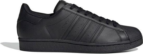 adidas Superstar Heren Sneakers - Core Black/Core Black/Core Black - Maat 44 2/3