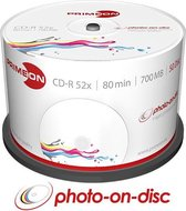 Primeon 2761105 CD-R 700MB 50stuk(s) lege cd