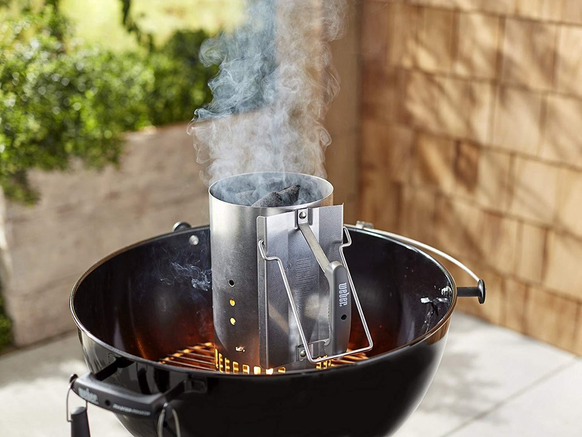 weber barbecue starter