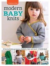 Boek cover Modern Baby Knits van Tanis Gray (Paperback)