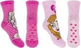 Disney Frozen 2 Pack Sokken Feather met Anti-slip - Maat 27/30