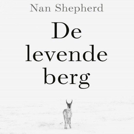 Boek cover De levende berg van Nan Shepherd (Onbekend)