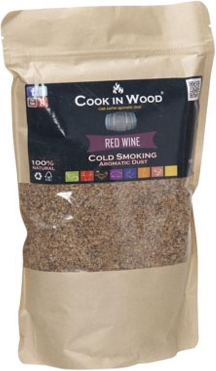 Cook in Wood Rookmot Red Wine - 500 gram