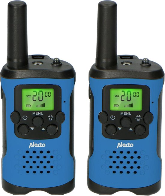 Alecto FR-115BW Walkie Talkie 7 km - 8 kanalen en 38 CTCSS codes